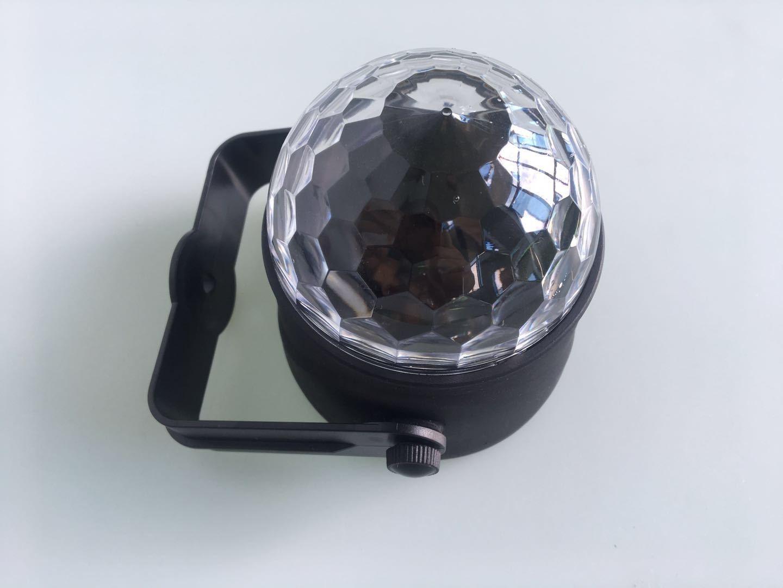 Đèn led vũ trường mini 9x8.6cm,thiết kế nhỏ gọn,thích hợp cho các quán  cafe, phòng karaoke 8946